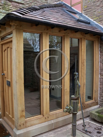 Browns Oak Beams And Cladding